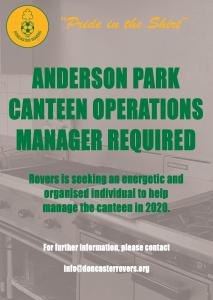 DRSC Canteen Manager