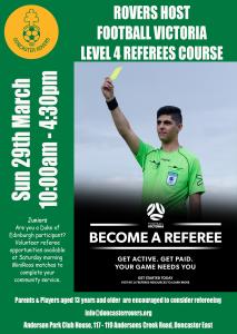 DRSC Level 4 Referees Course
