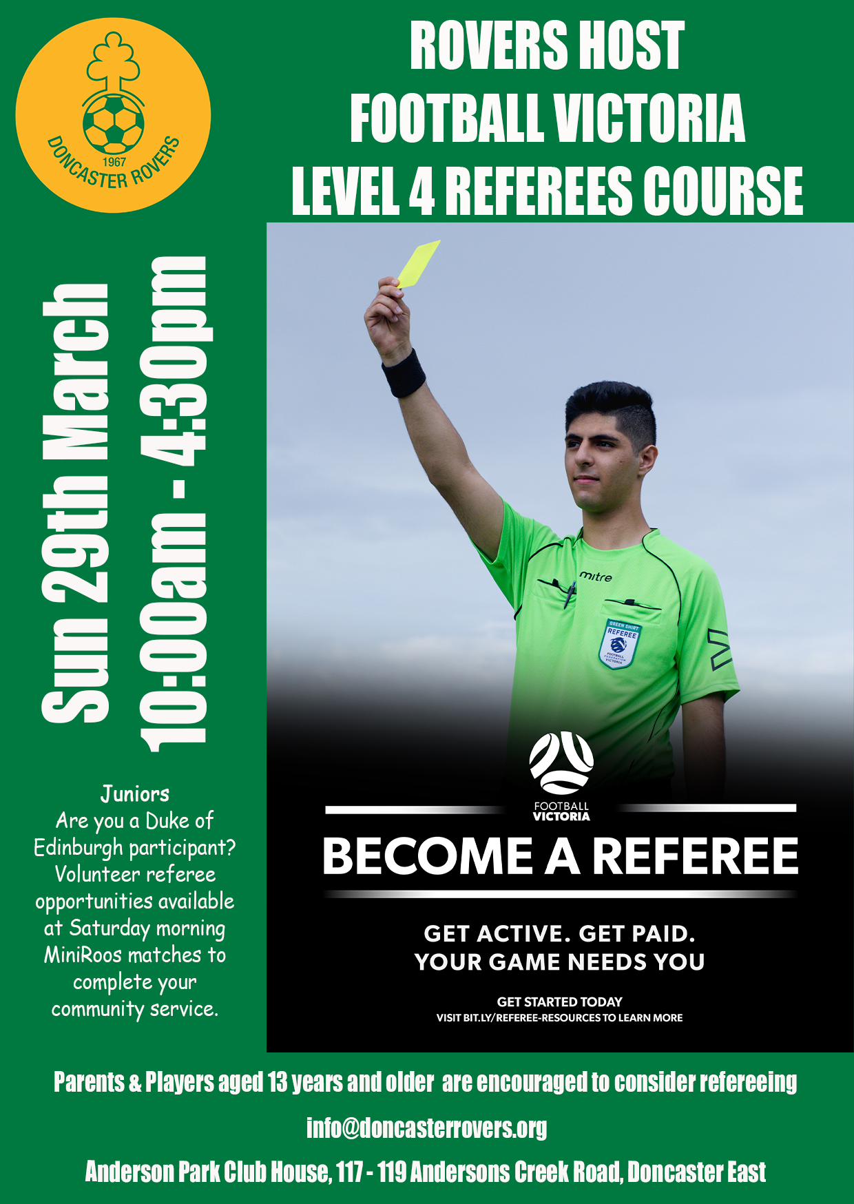 DRSC Level 4 Referees Course