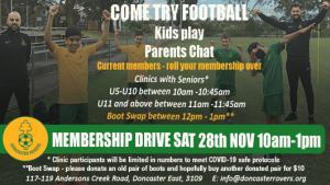 Come & Try 28th Nov